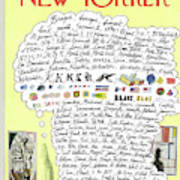 New Yorker October 18th, 1969 Art Print