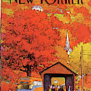 New Yorker October 19th, 1981 Art Print