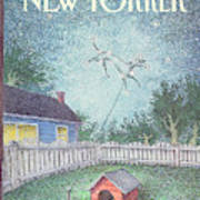 New Yorker October 21st, 1991 Art Print