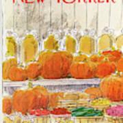 New Yorker October 25th, 1976 Art Print