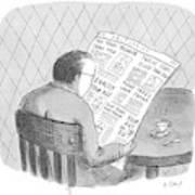 New Yorker October 25th, 1993 Art Print