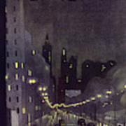 New Yorker October 29 1932 Art Print