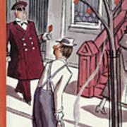 New Yorker October 29th, 1938 Art Print