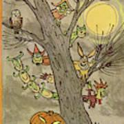 New Yorker October 31st, 1959 Art Print