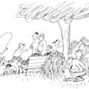 New Yorker October 7th, 1991 Art Print