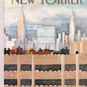 New Yorker October 8th, 1984 Art Print