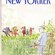 New Yorker September 21st, 1987 Art Print