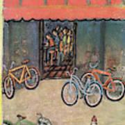 New Yorker September 25th, 1954 Art Print