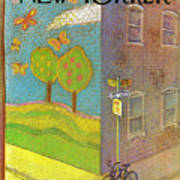 New Yorker September 27th, 1976 Art Print