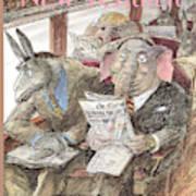 New Yorker September 28th, 1998 Art Print