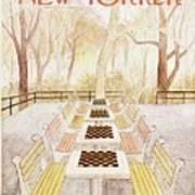 New Yorker September 29th 1975 Art Print