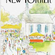 New Yorker September 8th, 1986 Art Print