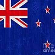 New Zealand Flag Art Print
