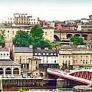 Newcastle Upon Tyne Quayside Art Print