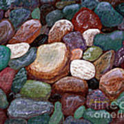 Newfoundland Beach Rocks 2  Art Print