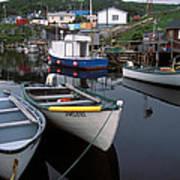 Newfoundland Outport Art Print