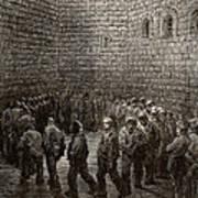Newgate Prison Exercise Yard Art Print
