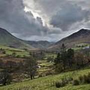 Newlands Valley Lake District National Park Art Print