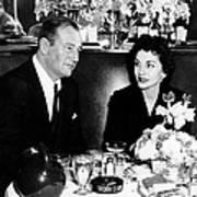 Newlyweds John Wayne, Left Art Print