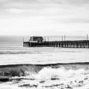 Newport Beach Pier Art Print