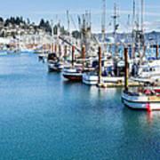 Newport Fishing Fleet  Art Print