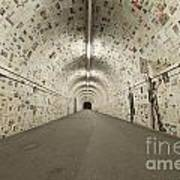 News In The Tunnel Art Print