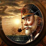 Imperishable Map Captain 1  Art Print