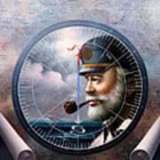 Imperishable  Map Captain 6 Art Print