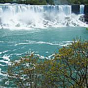 Niagara - American Falls In Spring Art Print