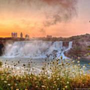 Niagara Falls Canada Sunrise Art Print