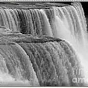 Niagara Falls Closeup Box Camera Effect Art Print