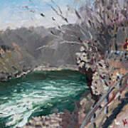 Niagara Falls Gorge Art Print