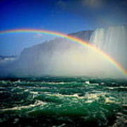 Niagara Rainbow Art Print