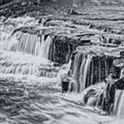 Niagara River Falls Art Print