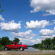 Nice Day For A Drive Art Print