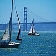 Nice Day On The Bay Art Print