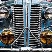 Nice Headlights Art Print by Merrick Imagery