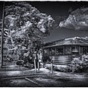 Nicko's Restaurant Print by Marvin Spates