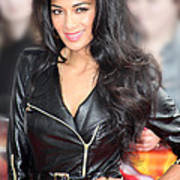Nicole Scherzinger 21 Art Print by Jez C Self