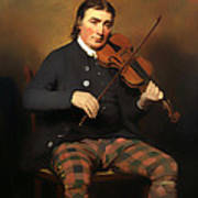 Niel Gow - Violinist And Composer Art Print