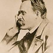 Nietzsche Art Print