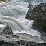 Nigel Creek Cascades Art Print
