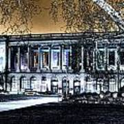 Night At The Library IIi Art Print
