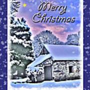Christmas Card 28 Art Print