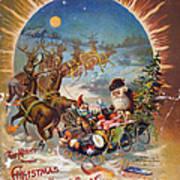 Night Before Christmas Art Print