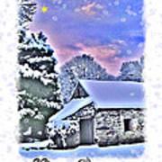 Christmas Card 27 Art Print