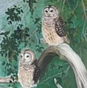 Night Owls Art Print