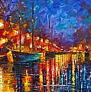 Night Port Art Print