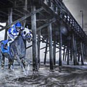 Night Run II Art Print