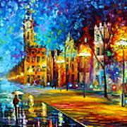 Night Vitebsk Art Print